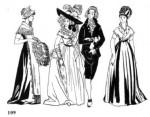 Костюм Англии XVIII века