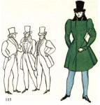 Европейский костюм 1800—1825 гг. Стиль ампир