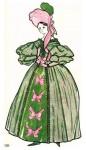 Европейский костюм 1830 — 1860 гг. Резкое изменение моды