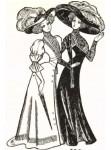 Европейский костюм начала XX века