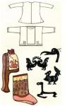 Одежда скифов и алтайцев