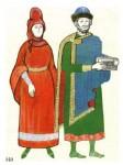 Русский костюм X-XIII веков (Киев, Новгород)