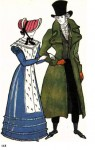 Русский костюм XIX века