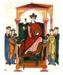 Костюм западной Европы в эпоху Средневековья