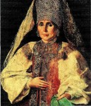 Русский костюм XVI—XVII  веков. Идеал женской красоты
