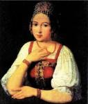 Русский костюм XVI—XVII  веков. Ткани и орнаменты