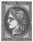 Первые марки мира