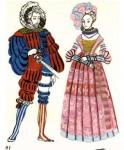 Немецкий и английский костюмы эпохи Возрождения