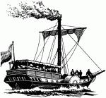 Первые американские пароходы