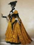 Французские платья свободного стиля