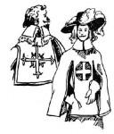 Военная одежда первой половины XVII века. Костюм мушкетера.