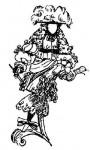 Мужской костюм моды барокко