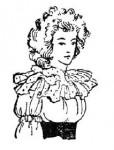 Женский костюм второй половины XVIII века