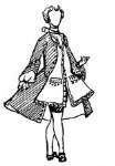 Мужской костюм второй половины XVIII века