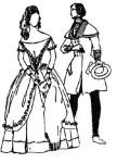 Мода 40-х годов XIX века