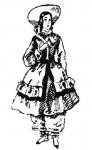 Мода 50—60-х годов XIX века