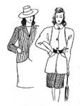 Мода 1941—1945 годы
