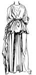 Античная одежда: Пеплос