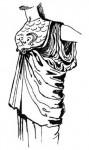 Античная одежда: Гиматий, Хламида