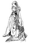 Средневековый костюм: Роб