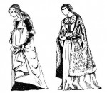 Италийский женский костюм эпохи Возрождения