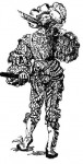 Германский мужской костюм эпохи Возрождения