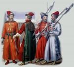 Русский костюм XVI—XVII  веков. Военная одежда