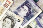 Портрет королевы на бумажных деньгах
