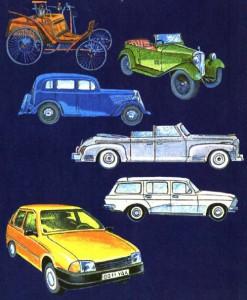 Возникновение автомобиля