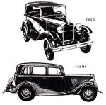 Горьковские и московские «классики» автомобиля