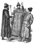 Русский костюм XVI—XVII  веков. Средние (вторые) одежды