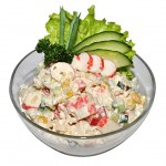 История крабового салата